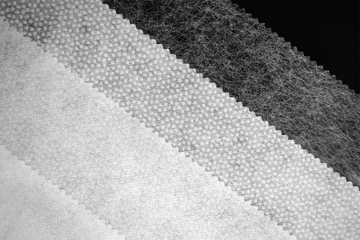 PERMESS knitted, woven and non-woven interlinings.